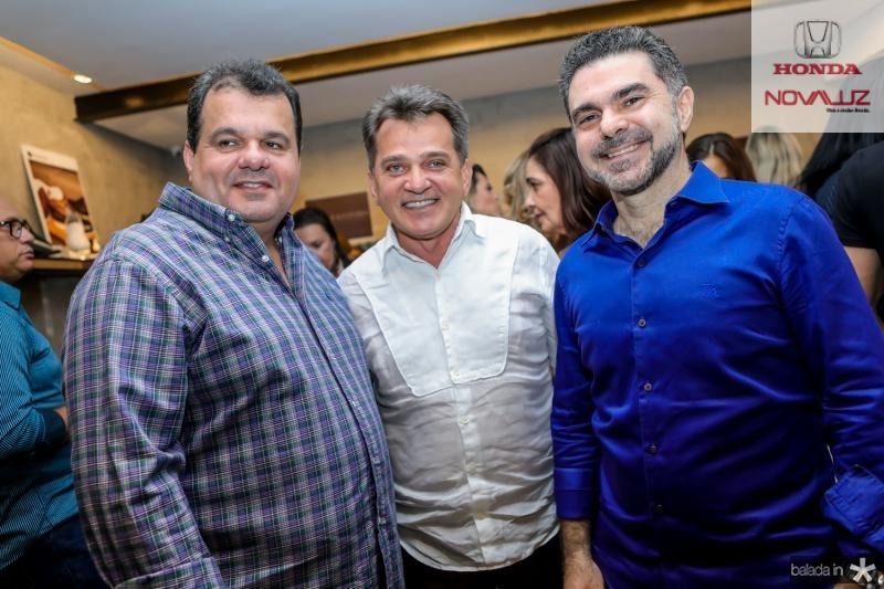 Rene Freire, Watson Viana e Isaac Furtado