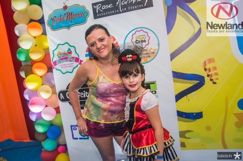 Lucia Sampaio e Ana Beatriz Costa