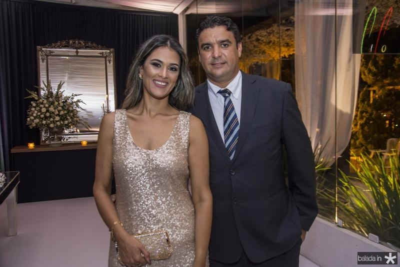 Elena Odisio e Alan Nascimento