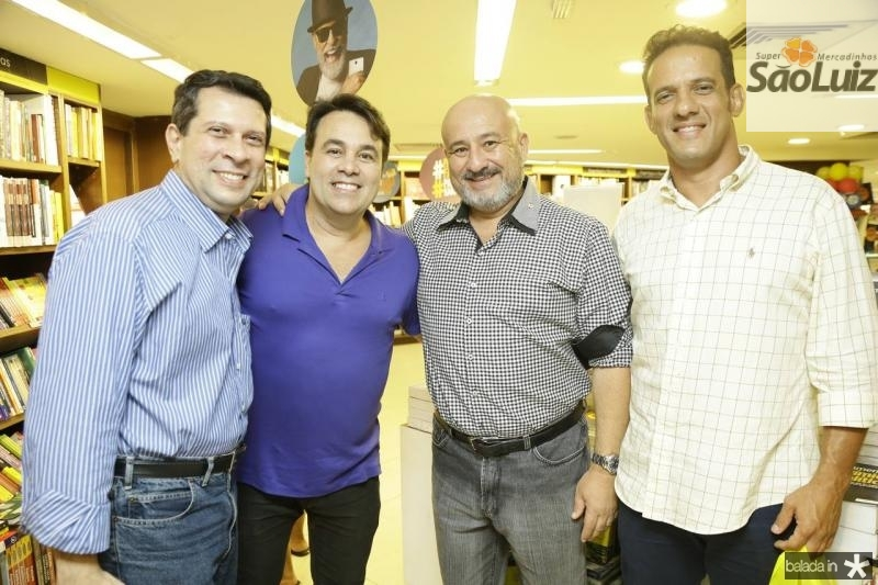 Yuri Magalhaes, Max Trigueiro, Andre Mota e Ronaldo Leitao