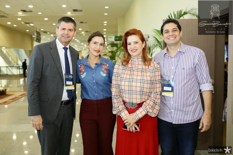 Juraci Muniz, Edna e Enid Camara e Hanner Pinto