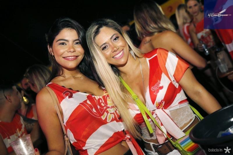 Natasha Vasconcelos e Tati Queiroz