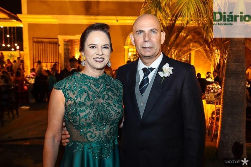 Solange Diniz e Andre Carvalho