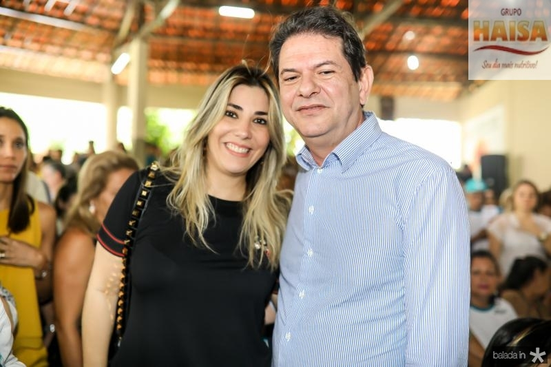Maria e Celia e Cid Gomes