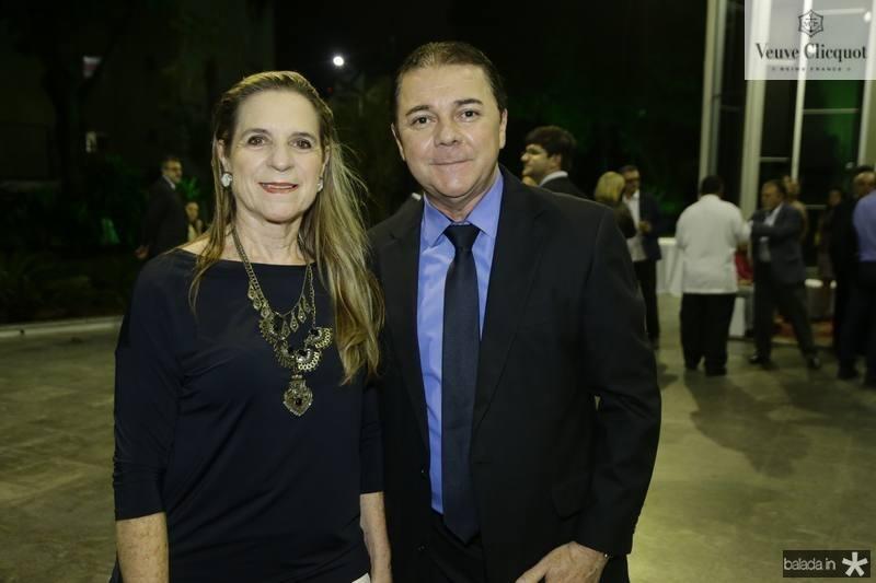 Anya Ribeiro e Eliseu Barros