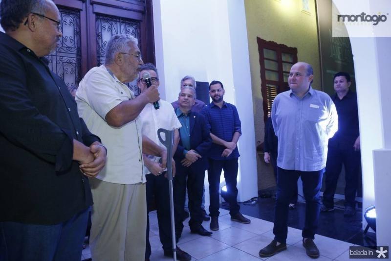 Gilvan Paiva, Descartes Gadelha e Roberto CLaudio