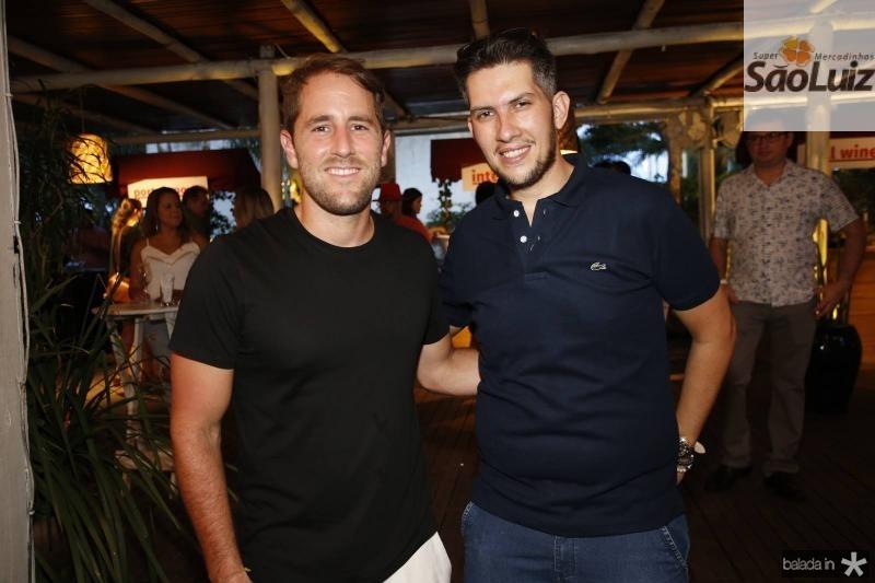 Rodrigo Frota e Joao Henrique Baltazar