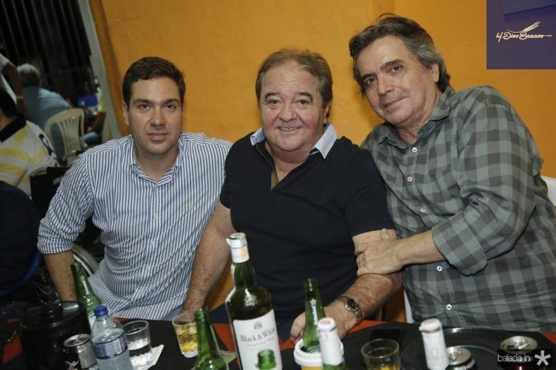 Eduardo Bismarck, Chiquinho Aragao e Totonho Laprovitera