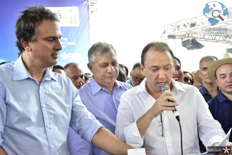 Camilo Santana, Jose Airton e Ariston Filho Araujo