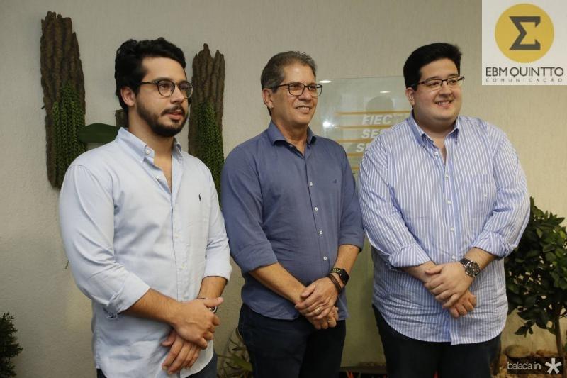 Rafael Fujita, Severino Ramalho Neto e Yuri Torquato