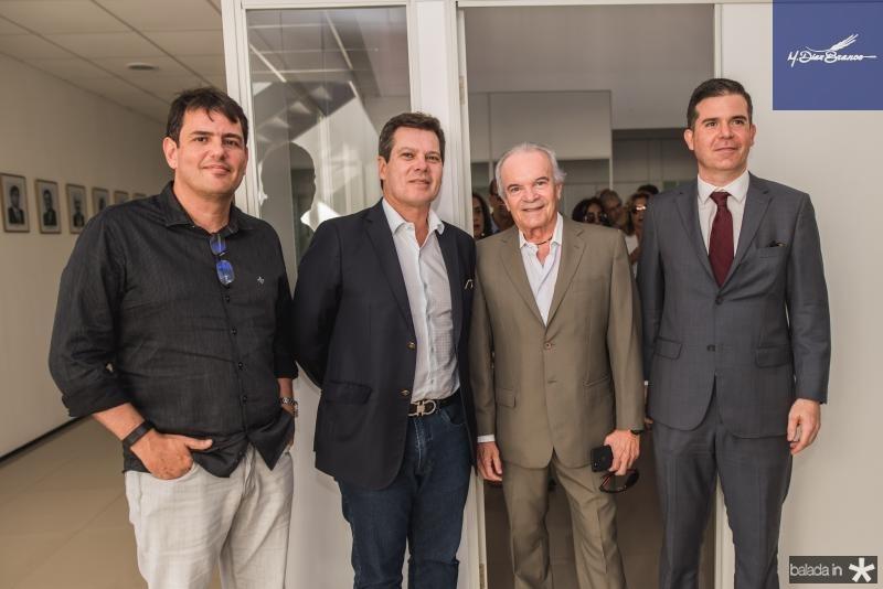 Ricardo Ramos, Claudio Dias Branco, Nertan Ribeiro e Fahad Otoch