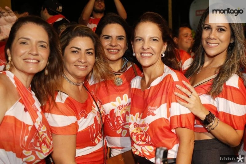 Renata Serpa, Tais Matias, Laisa Albuquerque, Ana Elisa e Samea Castro 1