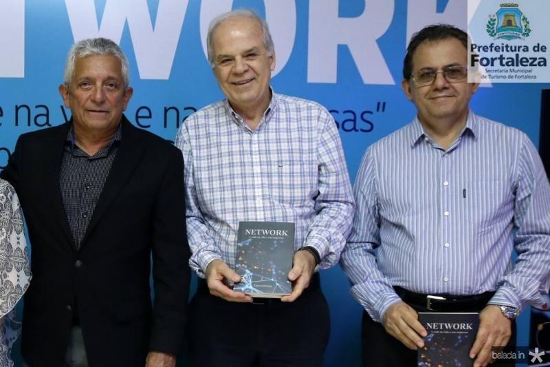 Tadeu Sobreira, Wagner Veloso e Elvecio Feitosa