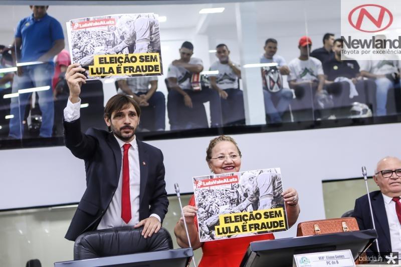 Guilherme Sampaio e Eliana Gomes