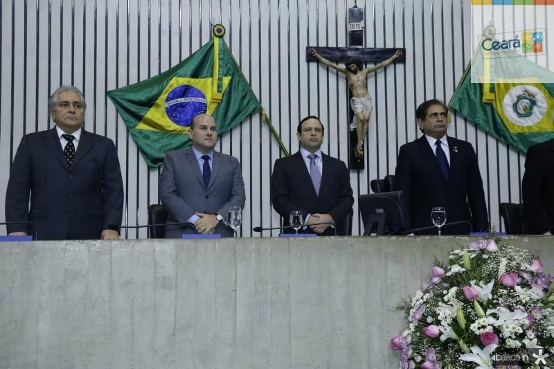 Luiz Pontes, Roberto Claudio, Igor Barroso e Zezinho Albuquerque