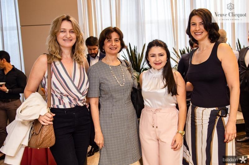 Monica Heuser, Darla Lopes, Cintia Diogenes e Renata Telles