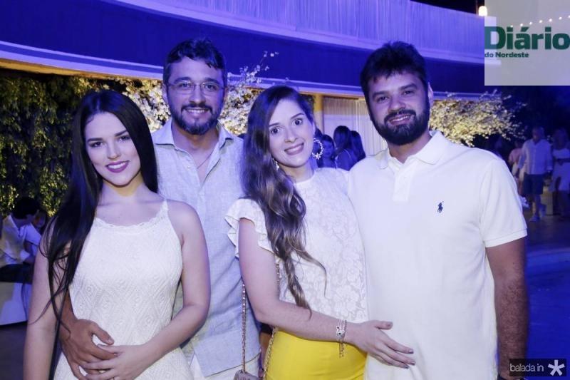 Luciana Coelho, Victor Belo, Vitoria Bacelar e Alessandro Medeiros