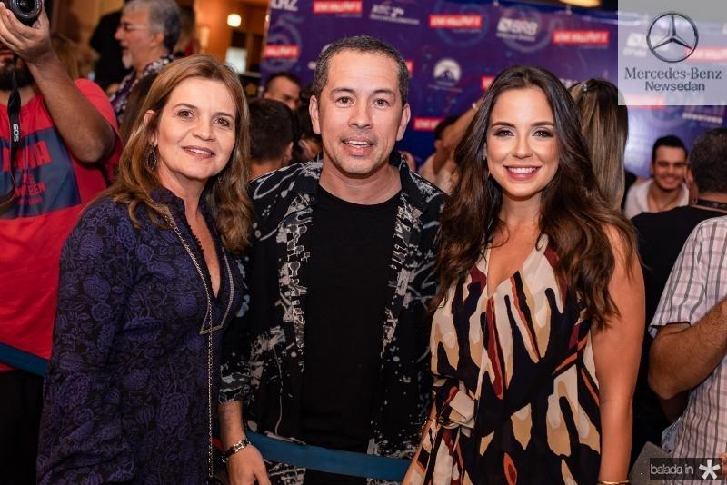 Geni Correia Lima, Edimilson Filho e Fernanda Levy