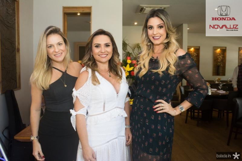 Rquel Carioca, Socorro Medeiros e Carol Mello