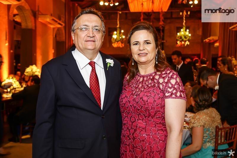 Paulo e Viviane Quezado