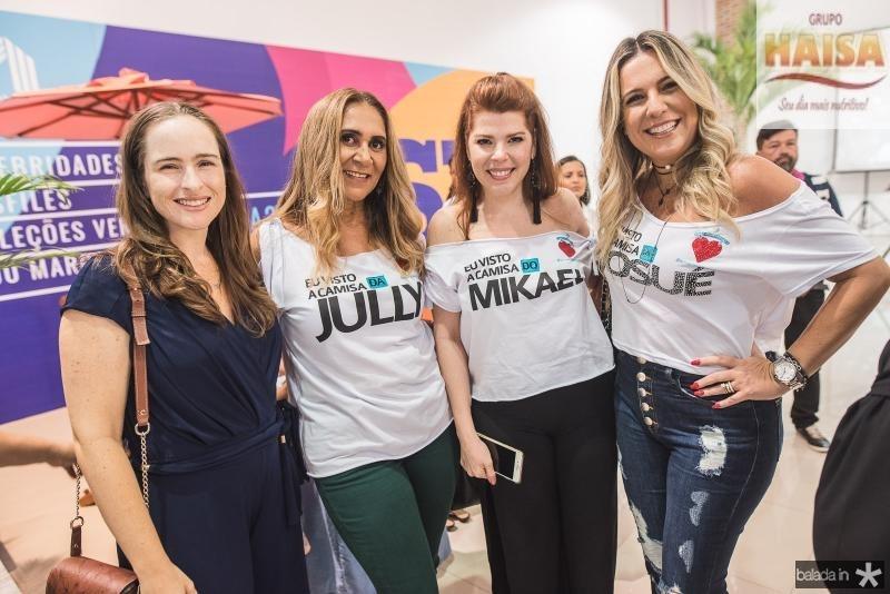 Bia Fiuza, Vera Lucia, Marciany Holanda e Aurea Fontenele