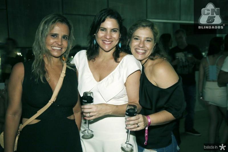 Alessandra Bezerril, Luciana Borges e Ana Claudia Aguiar