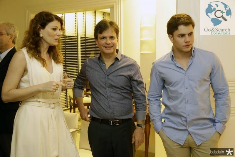 Mirella Renon, Andre e Diego Juca