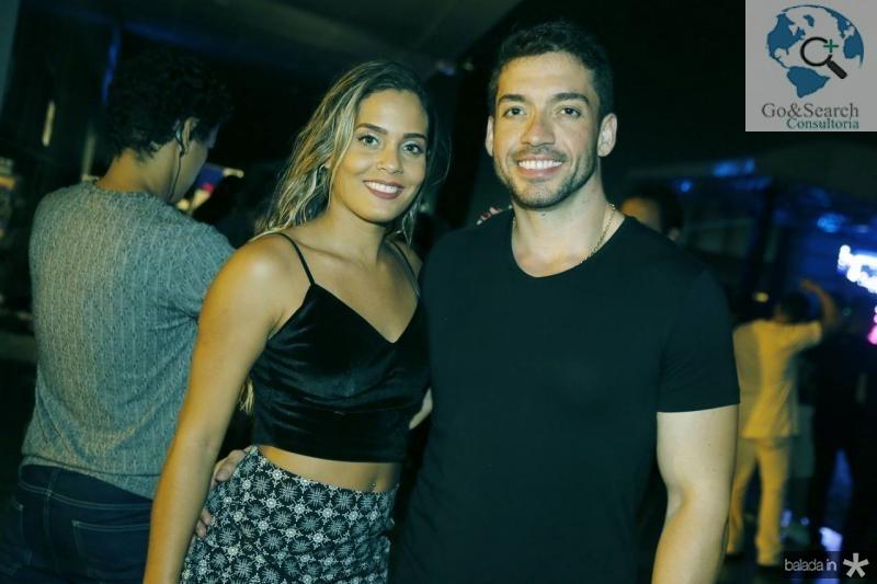 Thais Karla e Diego Aguiar