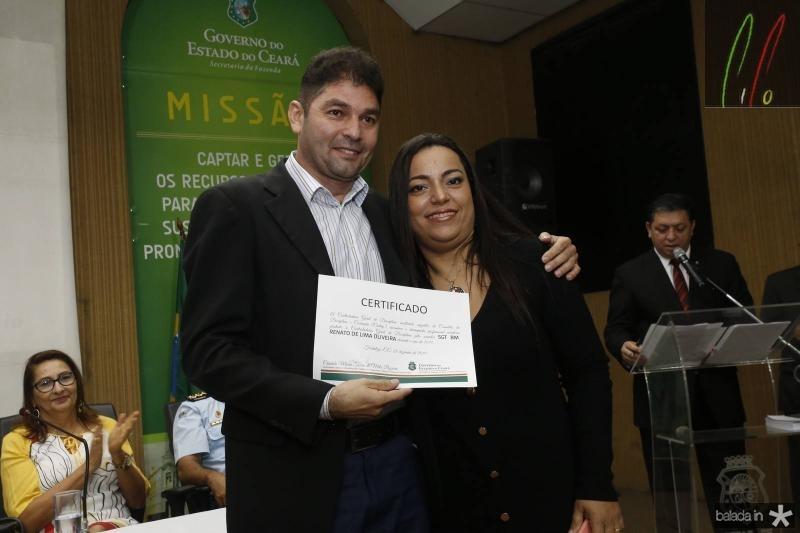 Renato Oliveira e Luciana Costa
