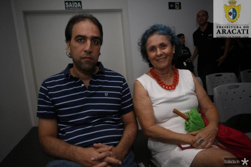 Tomaz Rocha e Diana Pinheiro