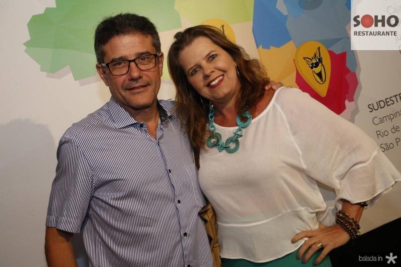 Barros Neto e Andrea Prudente