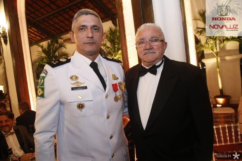 Cmte Aginaldo Oliveira e Alcimor Rocha