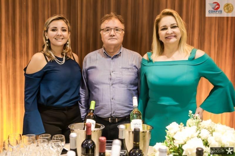 Tatiana Bezerra, Antonio Souares e Regia Oliveira