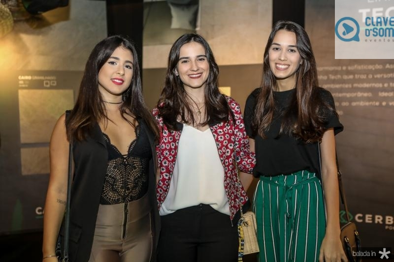 Luma Bianca, Roberta Feitosa e Milena Adelaide