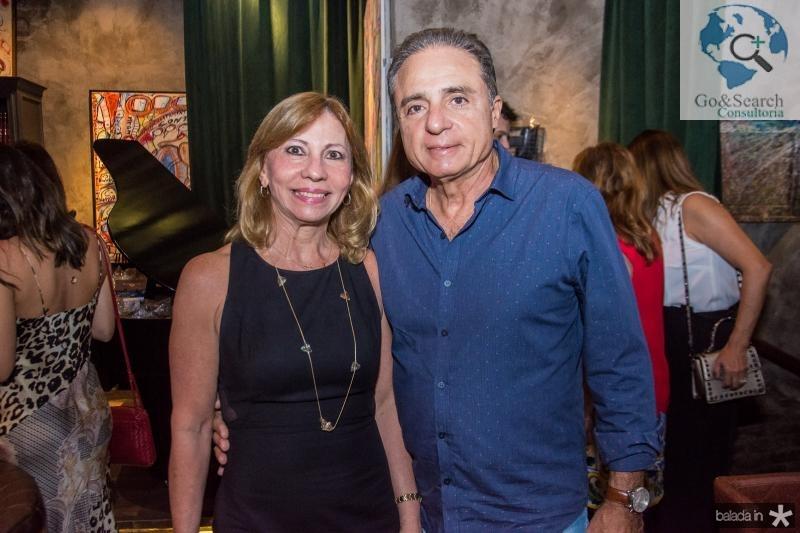 Eveline Pinheiro e Nestor Silva
