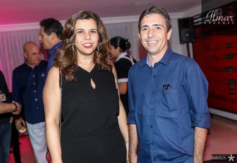 Virna Frota e Joao Filho