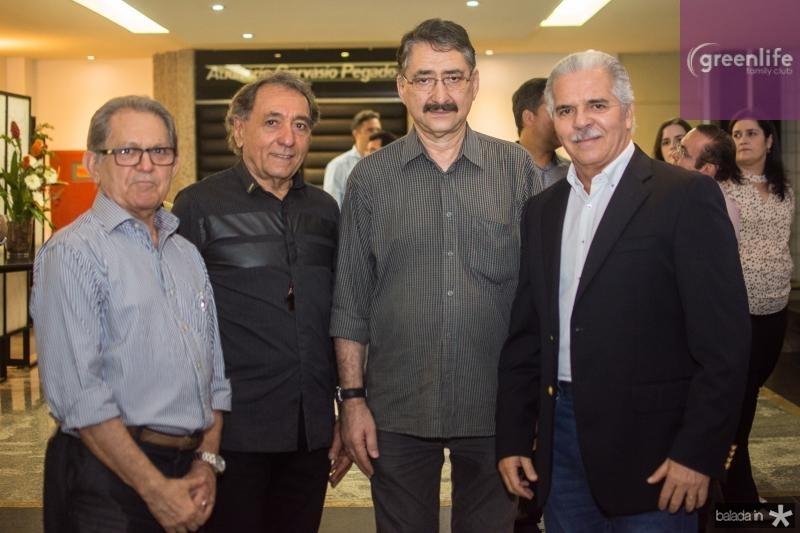 Joao Sobrinho, Rogerio Aguiar, Emidio Junior e Pio Rodrigues