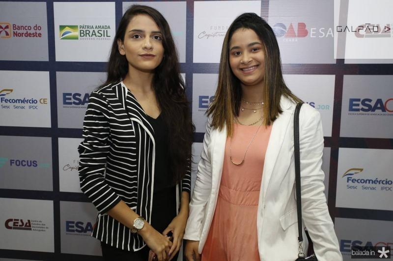Leticia Cavalcante e Rebeca Tifany