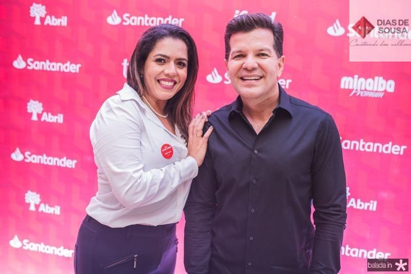 Fernanda Dantas e Gustavo Serpa