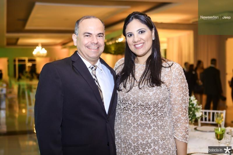 Gustavo e Fernanda Menezes
