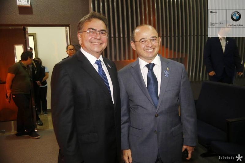 Leonidas Cristino e Sergio Aguiar