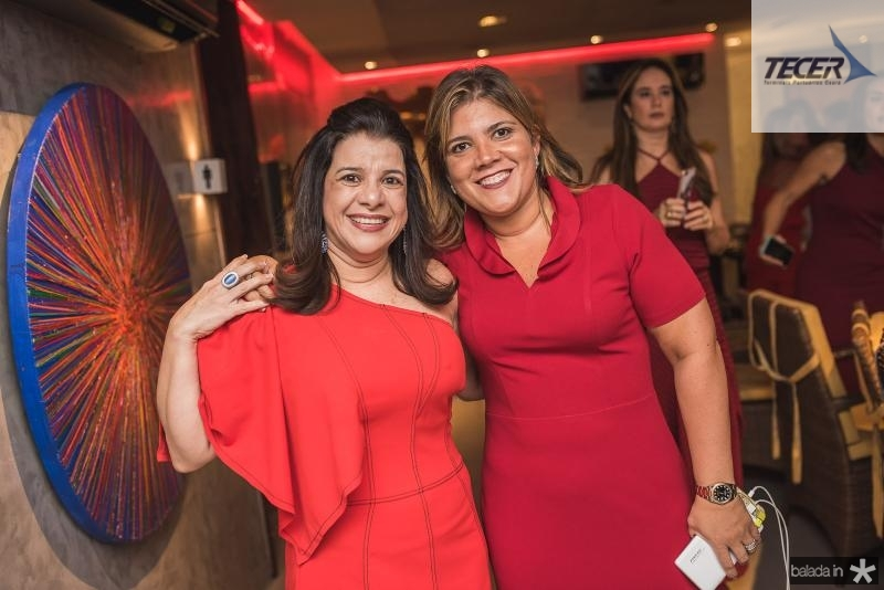 Luciana Lobo e Gisela Vieira