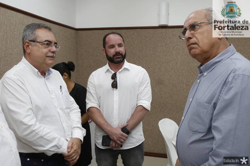 Assis Cavalcante, Julio Santos e Bosco Macedo
