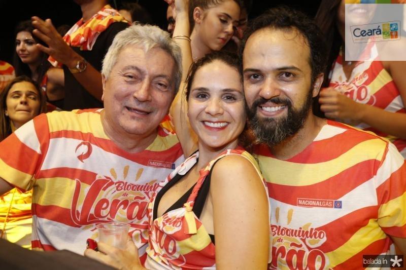 Euvaldo Bringel, Mariana Mota e Adolfo Menezes