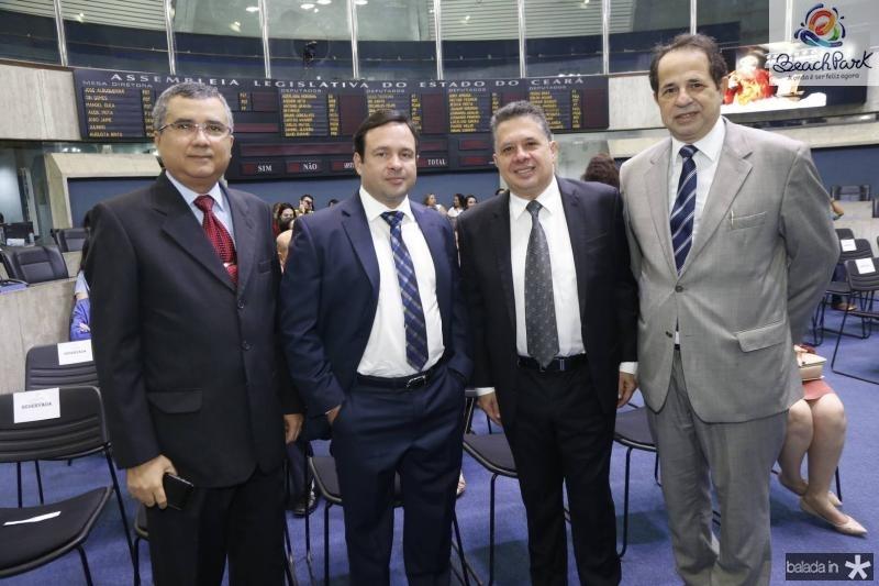 Jose Tarcilio, Igor Queiroz, Gerardo Bastos e Joao Milton
