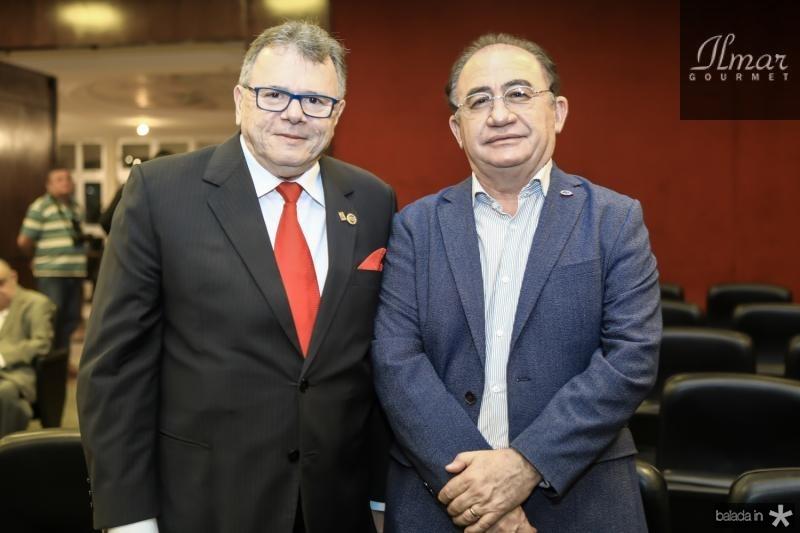 Juarez Leitao e Manoel Linhares