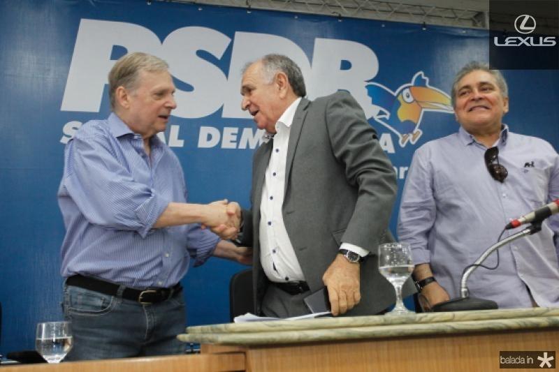 Tasso Jereissati, Francini Guedes e Luiz Pontes 1