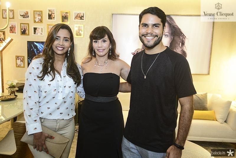 Gisele Camilo, Maria Jose Lopes, Fernando Barros