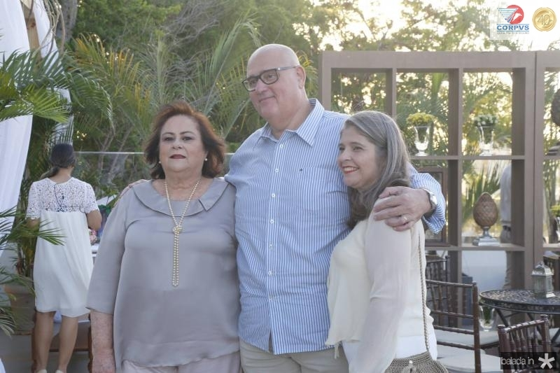 Aparecida Fiuza, Fabio e Danielle Araripe