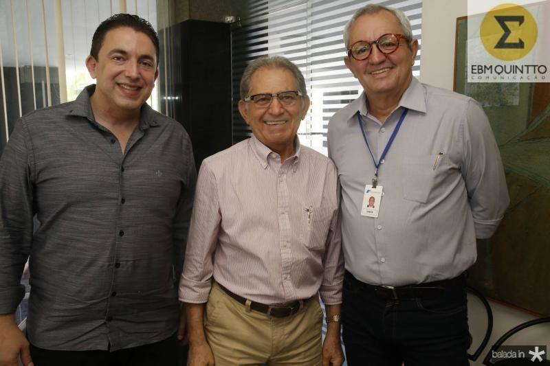 Rodrigo Pereira, Joao Araujo Sobrinho e Lourenco Damata